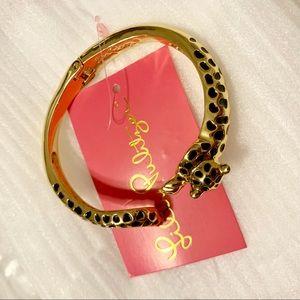 NWT Lilly Pulitzer Cheetah/Leopard Bangle Bracelet